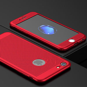 Heat Dissipation Phone Case With Tempered Glass
