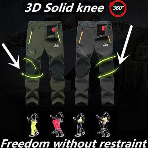 Men's Outdoor Waterproof Soft Shell Trousers