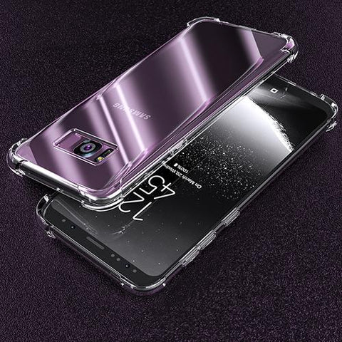 Galaxy S8 Transparent Silicone Case