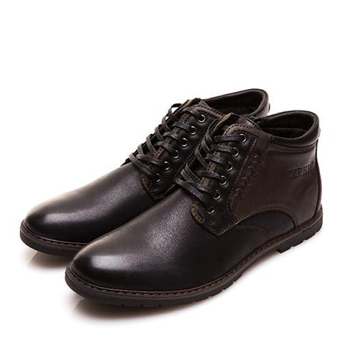 Fashionable Leather Boots For Men