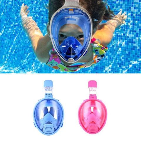 Kids Full Face Mask For Swimming And Divning