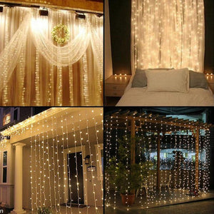 Holiday Wedding Decorative String Fairy Led Curtain