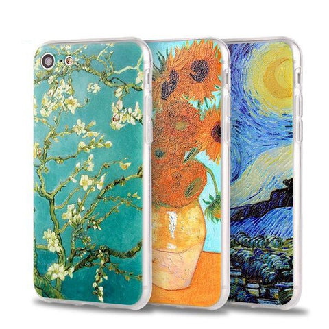 Van Gogh Art Painting Phone Cases For Iphone
