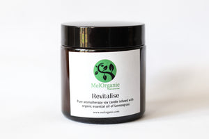 Aromatherapy Soy Candle - REVITALISE