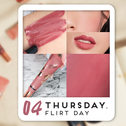 FIIT Everyday Kiss Lip & Cheek 04 - Thursday, Flirt day