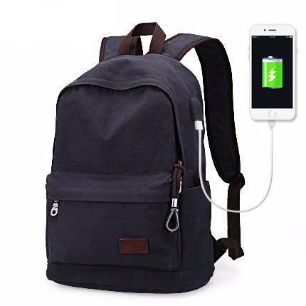 VENICE Vintage USB Travel Backpack