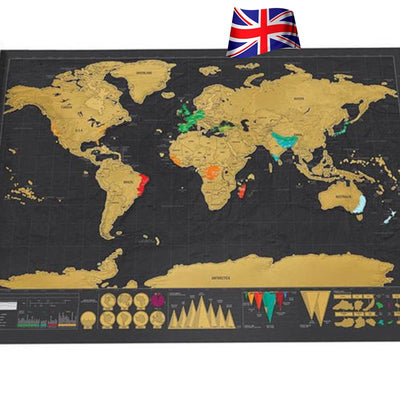 Whats new gift stuff fortunabox fortunabox scratch off world map scratch off world map gumiabroncs Gallery