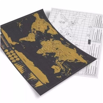 Whats new gift stuff fortunabox fortunabox scratch off world map gumiabroncs Image collections