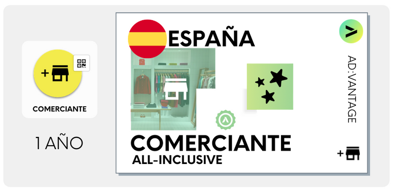 ESPAÑA: Comerciante All-Inclusive, Plan Anual