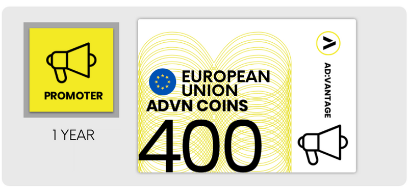 EUROPEAN UNION (other): Gift Card - 400 ADVN