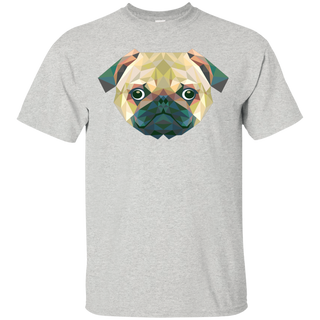 Triangle Pug Dog - Tshirt, Hoodie For Men, Women