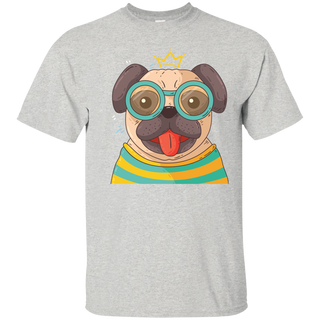 Pug With Glasses - Tshirt, Hoodie For Men, Women