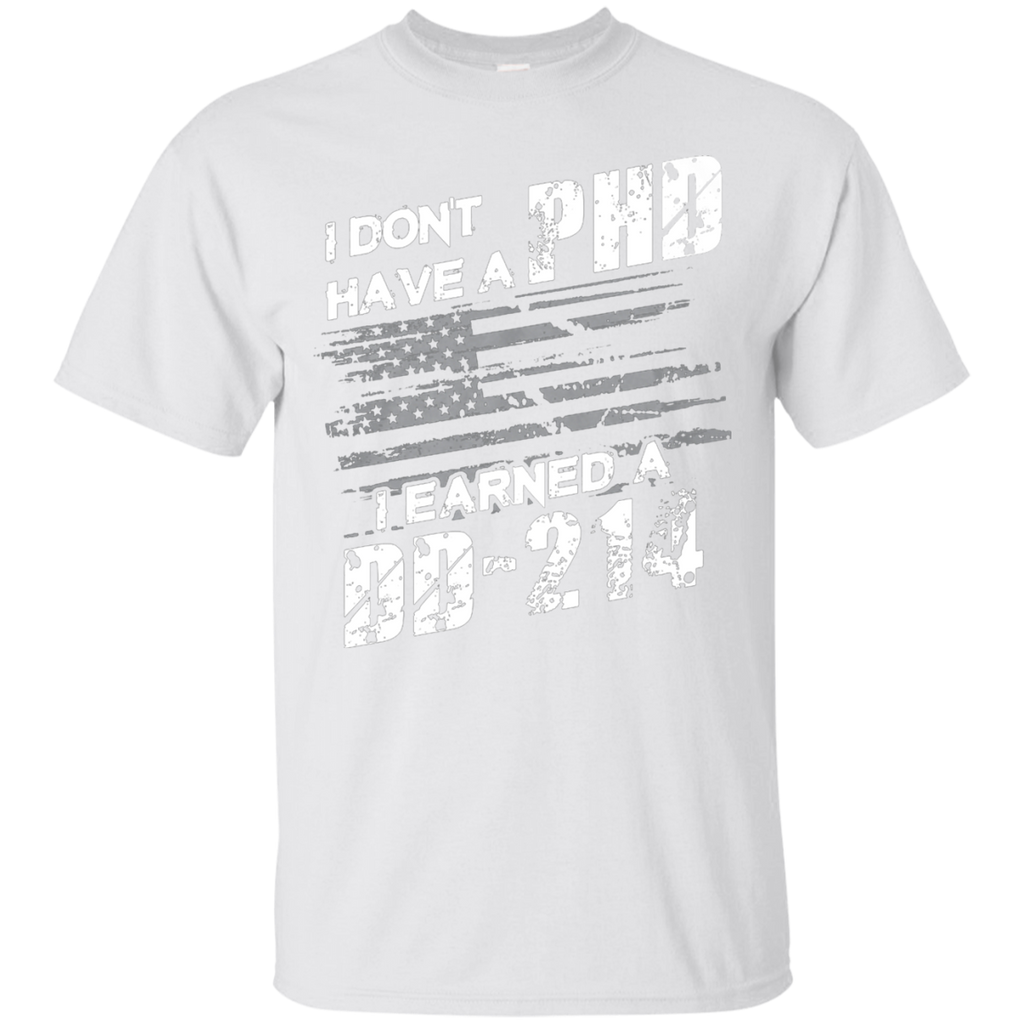 Proud To Be A Veteran Earned A DD-214