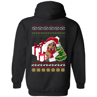 Dogs Christmas Hoodies