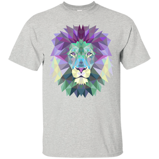 Polygonal Lion Head - Tshirt, Hoodie For Men, Women