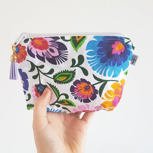Bright Floral Square Essential Oil Case - LIMITED EDITION