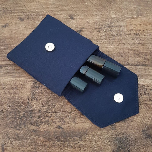Navy Essential Oil Roller Case - LIMITED EDITION