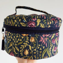 Complete Set - PICK YOUR FABRIC- Essential Oil & Diffuser Travel Case, Roller Case and Bag