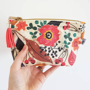 Summertime Floral Premium Square Essential Oil Bag - By Sarah Treu