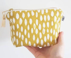 Yellow & White Square Essential Oil Case