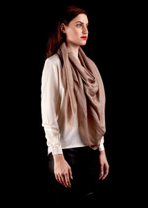 The Atlas Scarf In Beige