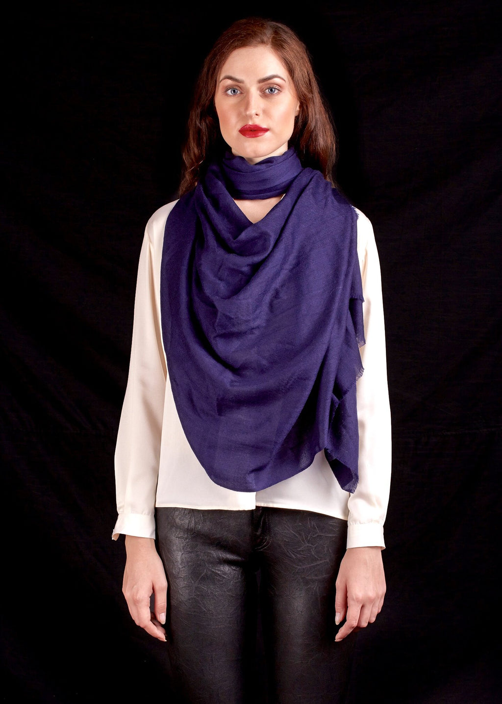 The Atlas Scarf In Blue