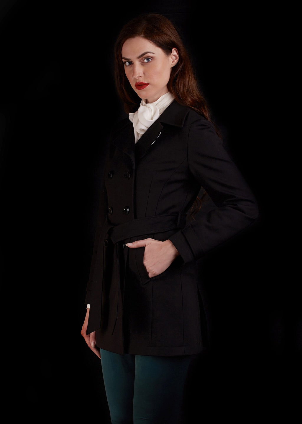 The Court Jacket In Suiting Material