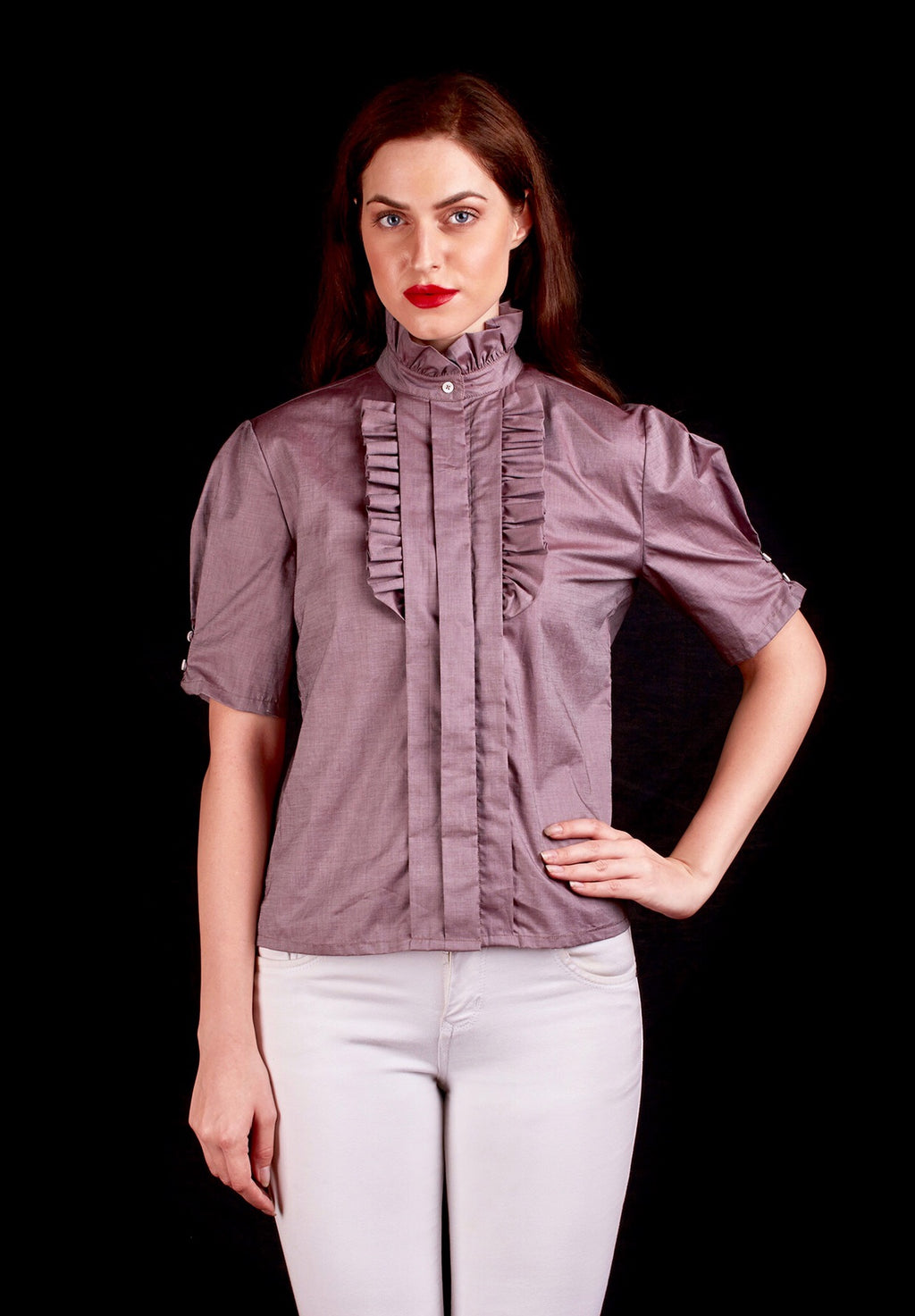The Giza Cotton Imperial Shirt In Grey