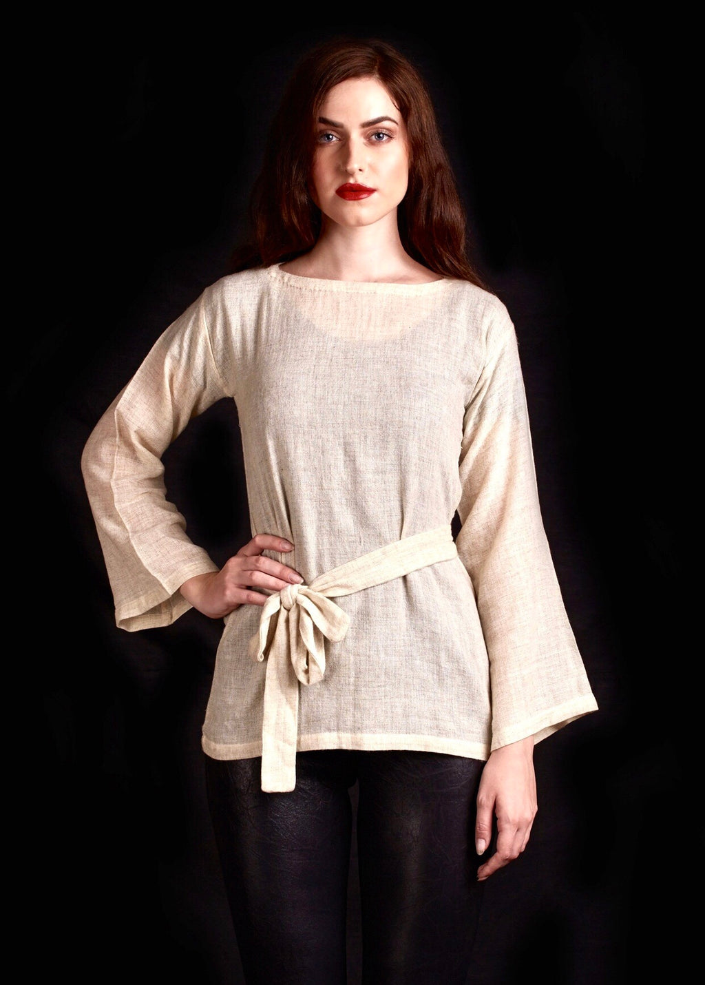 The Hirsh Sweater In Cream