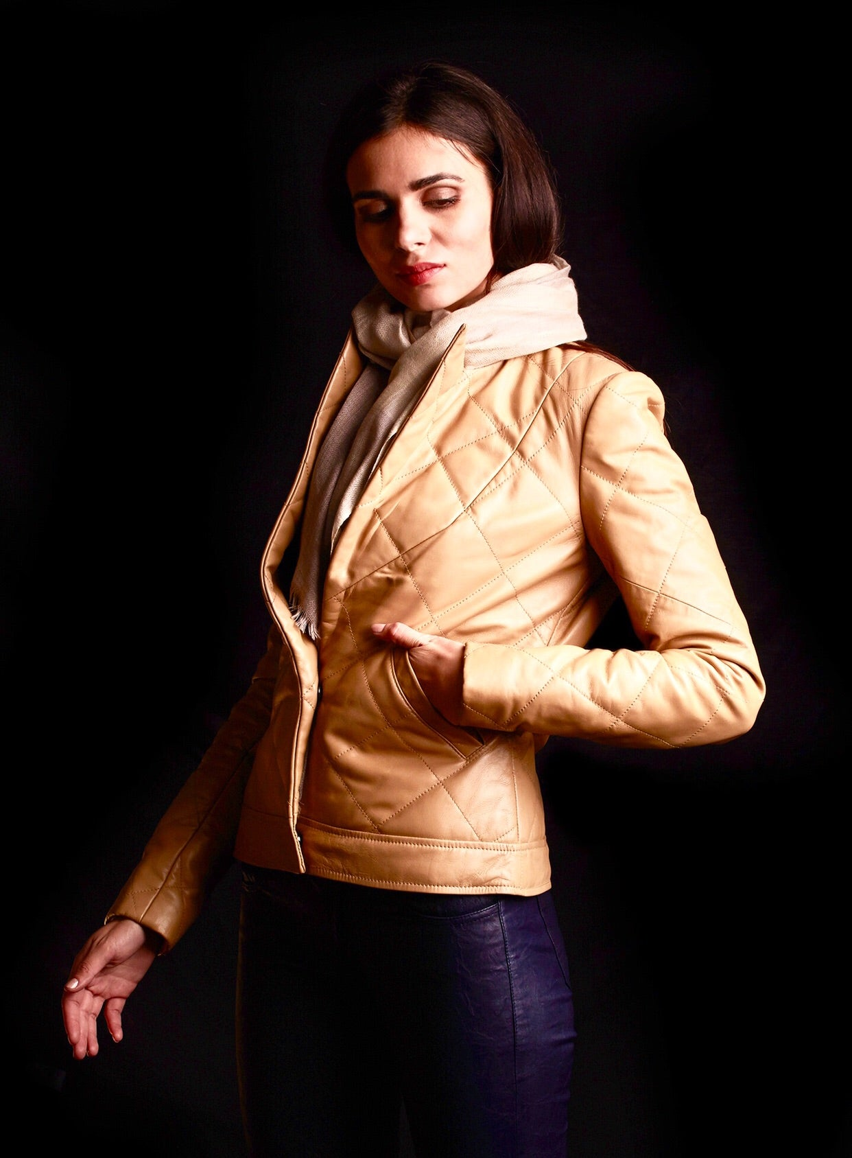 The Arles Jacket In Cream