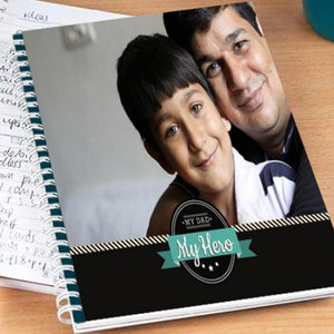 dad and me notebook