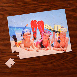 Photo puzzle - Cardboard