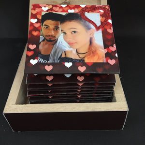 Its All About Love! Zig-Zag Photo Box