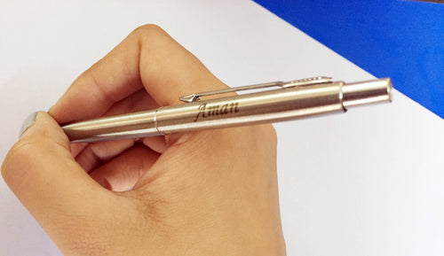 Parker Classic Steel Ball Pen with Name