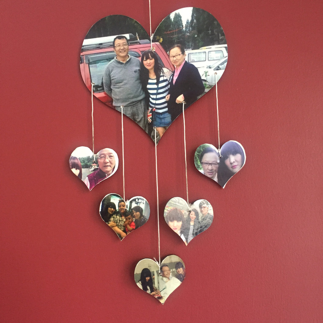 Multi Picture Wall Hanging