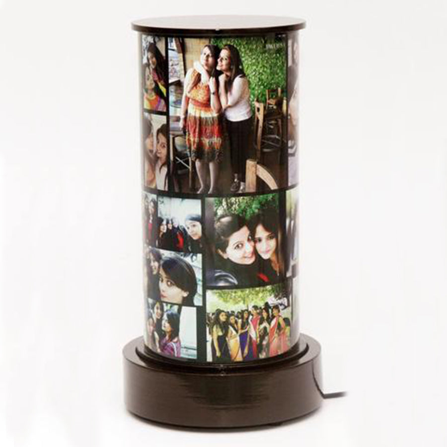 Rotating around you! Photo Lamp
