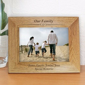 Message engraved Photo Frame