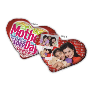 Heart shaped cushion for mom