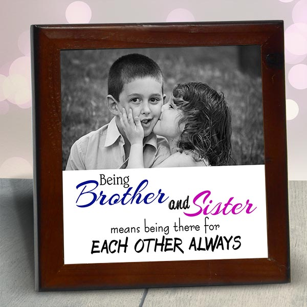 Brother and sister Photo Frame – Giftire