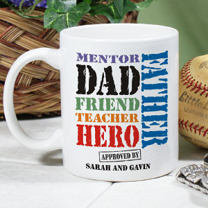 Its all about dad mug