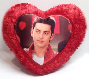 Heart shaped Photo Cushion