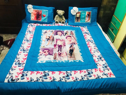 Personalised bedsheet