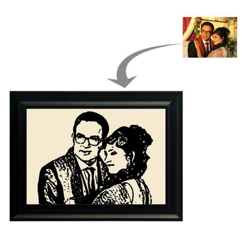 Sketch effect Photo Frame