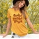 Thankful Grateful Blessed Graphic Fall T Shirt