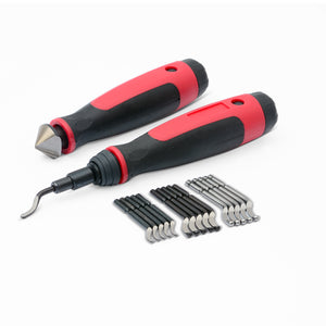 Long reach demurring tool with 15 extra blades