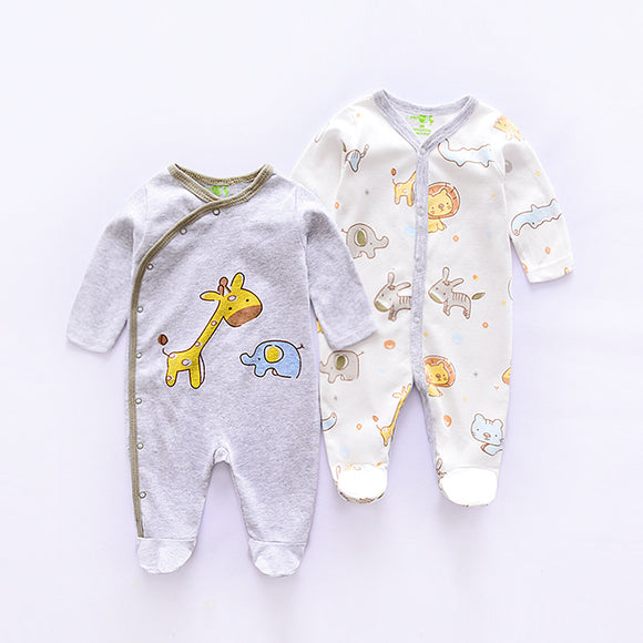Baby giraffe romper set (2 per set) 100% Cotton