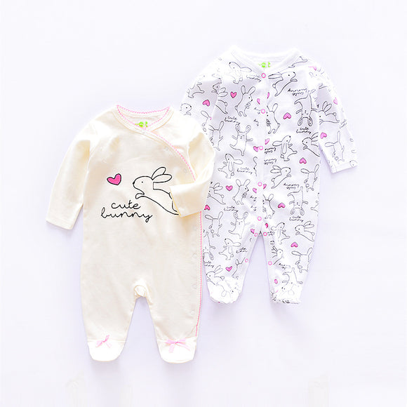 Baby bunny romper set (2 per set) 100% Cotton