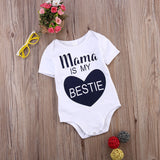 Mama is my bestie onesie (premium quality)