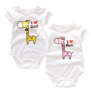 I love dad 100% cotton onesie