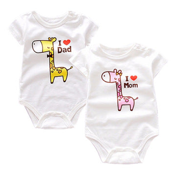 I love mom 100% cotton onesie